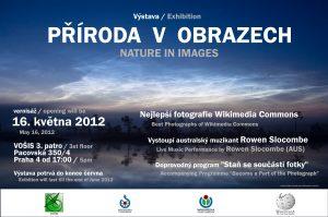 Plakát k výstavě Příroda v obrazech