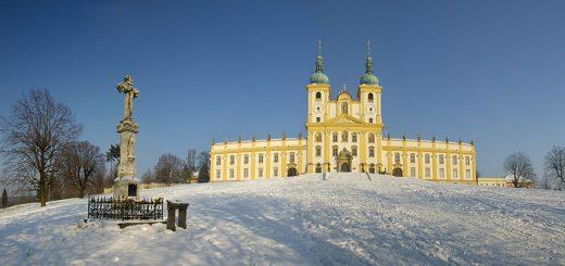 Bazilika Navštívení Panny Marie na Svatém Kopečku u Olomouce.