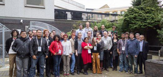 Účastníci workshopu v Londýně