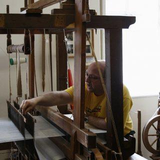Großschönau - Německé muzeum damaškové a smyčkové tkaniny
