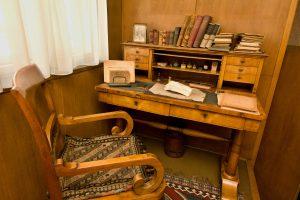 Pracovní stůl Karla Čapka