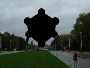Atomium musí být cenzurováno. Autor: Nro92 + Romaine, CC0 1.0