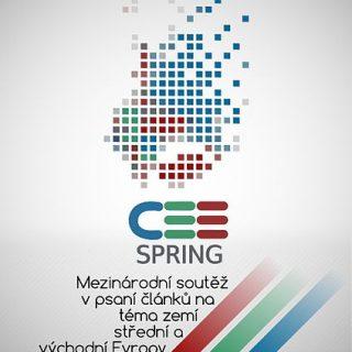 Plakát soutěže CEE Spring