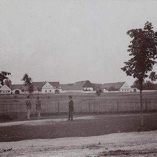 Historická fotografie Tuchlovic, snímek poskytlo Vlastivědné muzeum ve Slaném