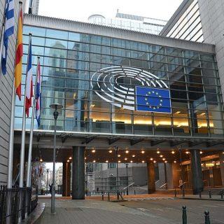 Budova Evropskéhop parlamentu