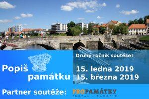 Logo soutěže Popiš památku
